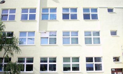 Les 178 fenêtres de MIROX ID 4000 à l'école secondaire 44. de Łódź